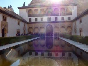 Alhambra patio de Arrayanes